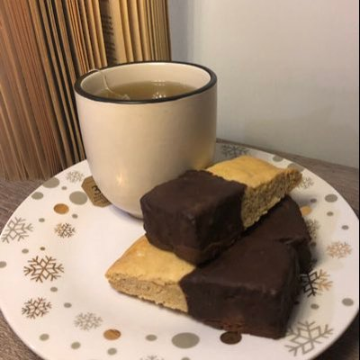 My Guiltless Desserts Chocolate Drizzled Biscotti 180g. low carb. Gluten and dairy free. Ketogenic, paleo and diabetic friendly.
