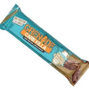 Grenade Carb Killa High Protein Bar Chocolate Chip Salted Caramel l Trusted by sport, 20g protein, low carb, Made in UK, Trans fat free..