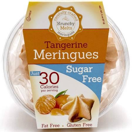 Krunchy Melts Meringues Tangerine 57g