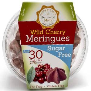 Krunchy Melts Meringues Wild Cherry 57g