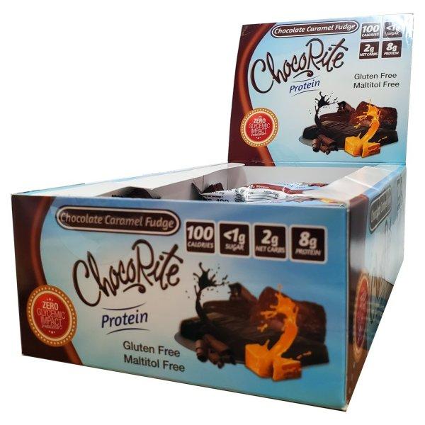 ChocoRite Protein Chocolate Caramel Fudge 34g