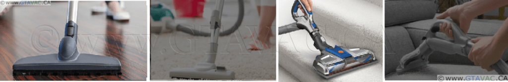 Centra Vacuum Cleaning Set for Bare floor Carpet And Stairs