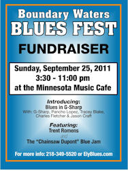 Boundary Waters Blues Festival Fall Fund Raiser 2011