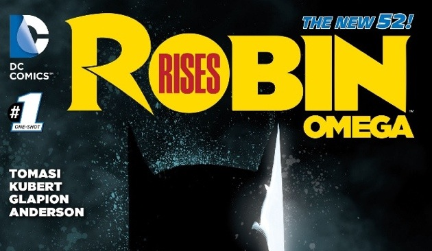 Robin Rises Omega Issue 1 Review