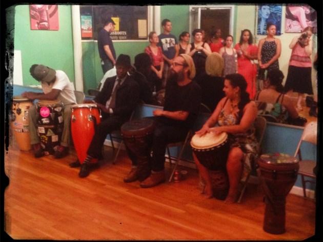 Conga Jam @ Grassroots Community Space