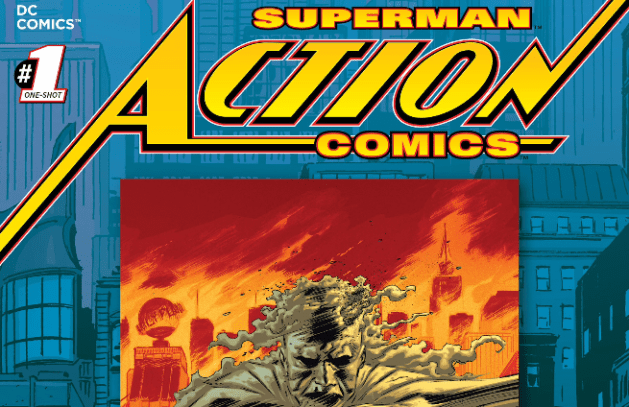 The New 52 Futures End Action Comics Issue 1 Review