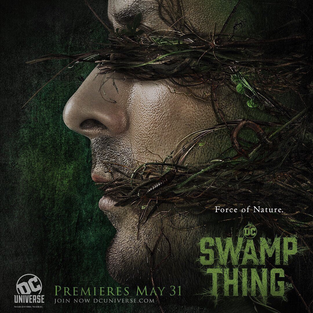 Streaming Comic Book TV on DC Universe Swamp Thing