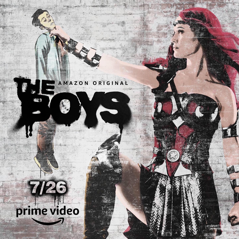 Streaming The Boys on Amazon Prime