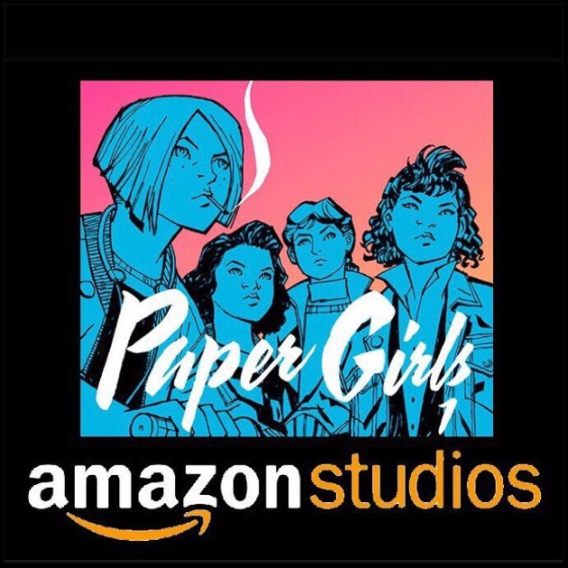 Paper Girls TV show on Amazon