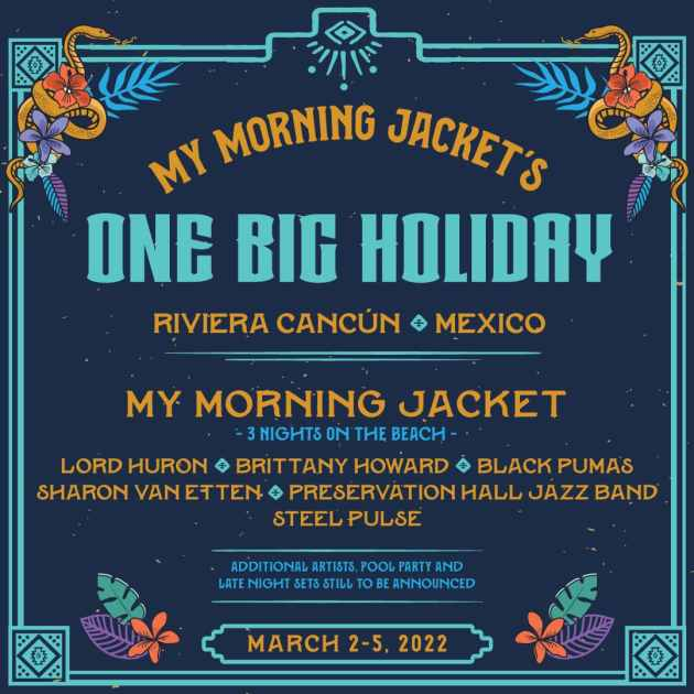 My Morning Jacket One Big Holiday Festival Lineup