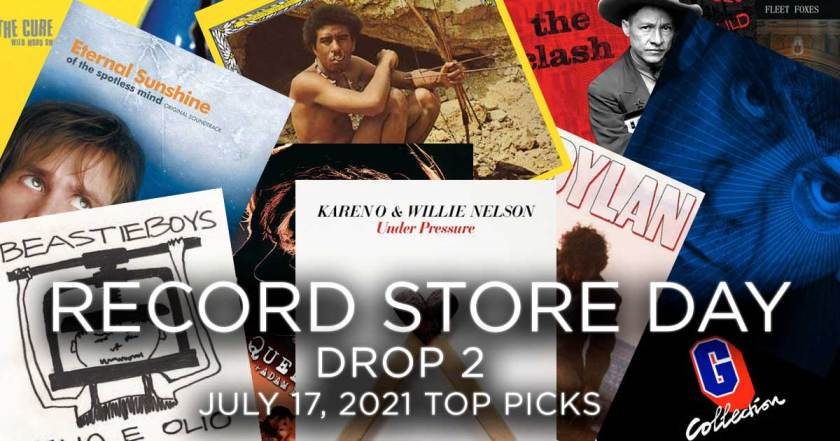 Record Store Day Drop 2 - July 17, 2021