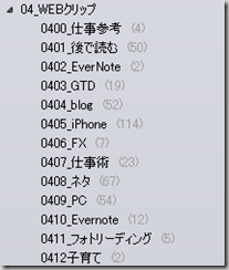 ScreenClip Evernote3.