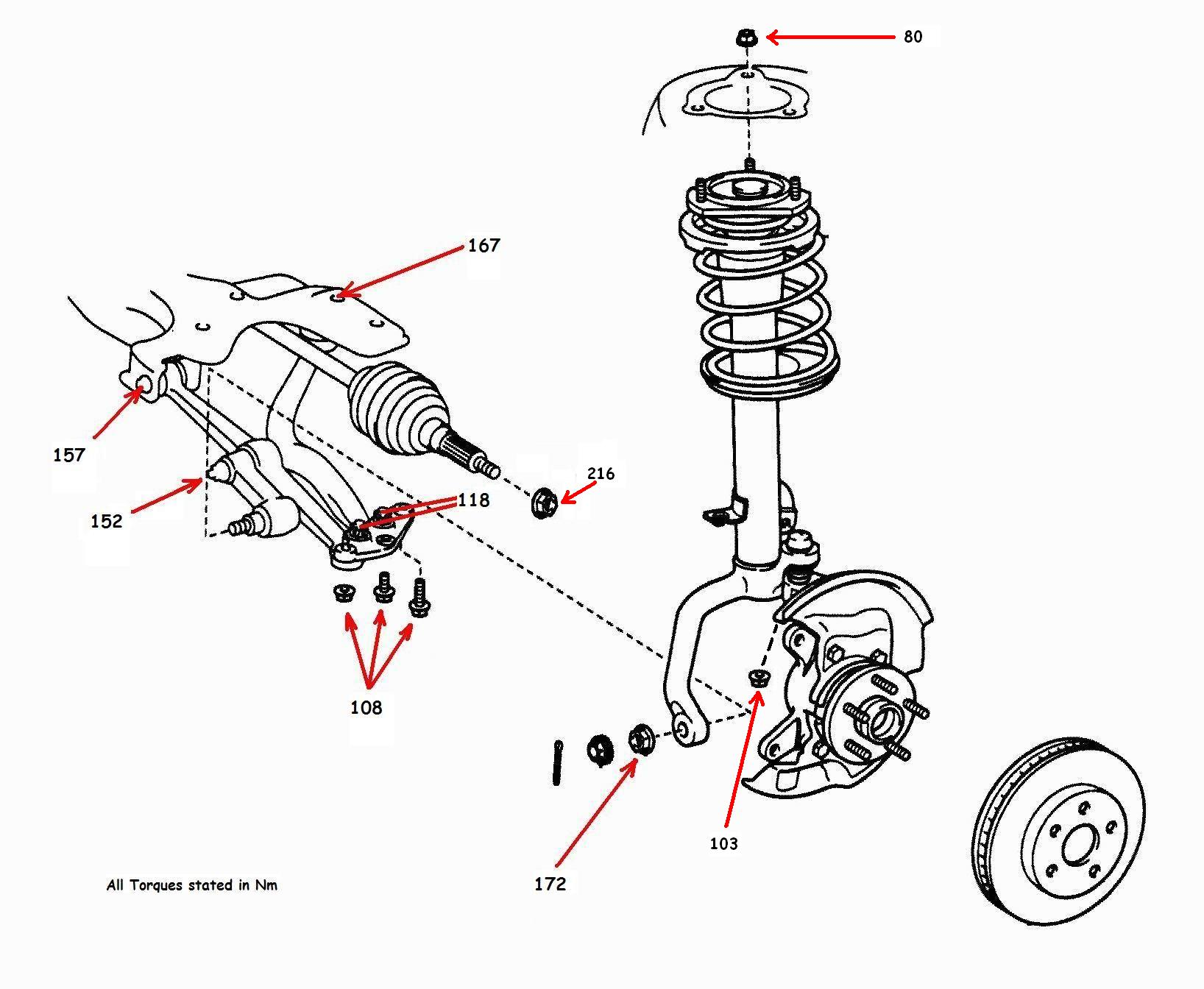 How To Change A Toyota Celica Gt4 St205 Front Driveshaft