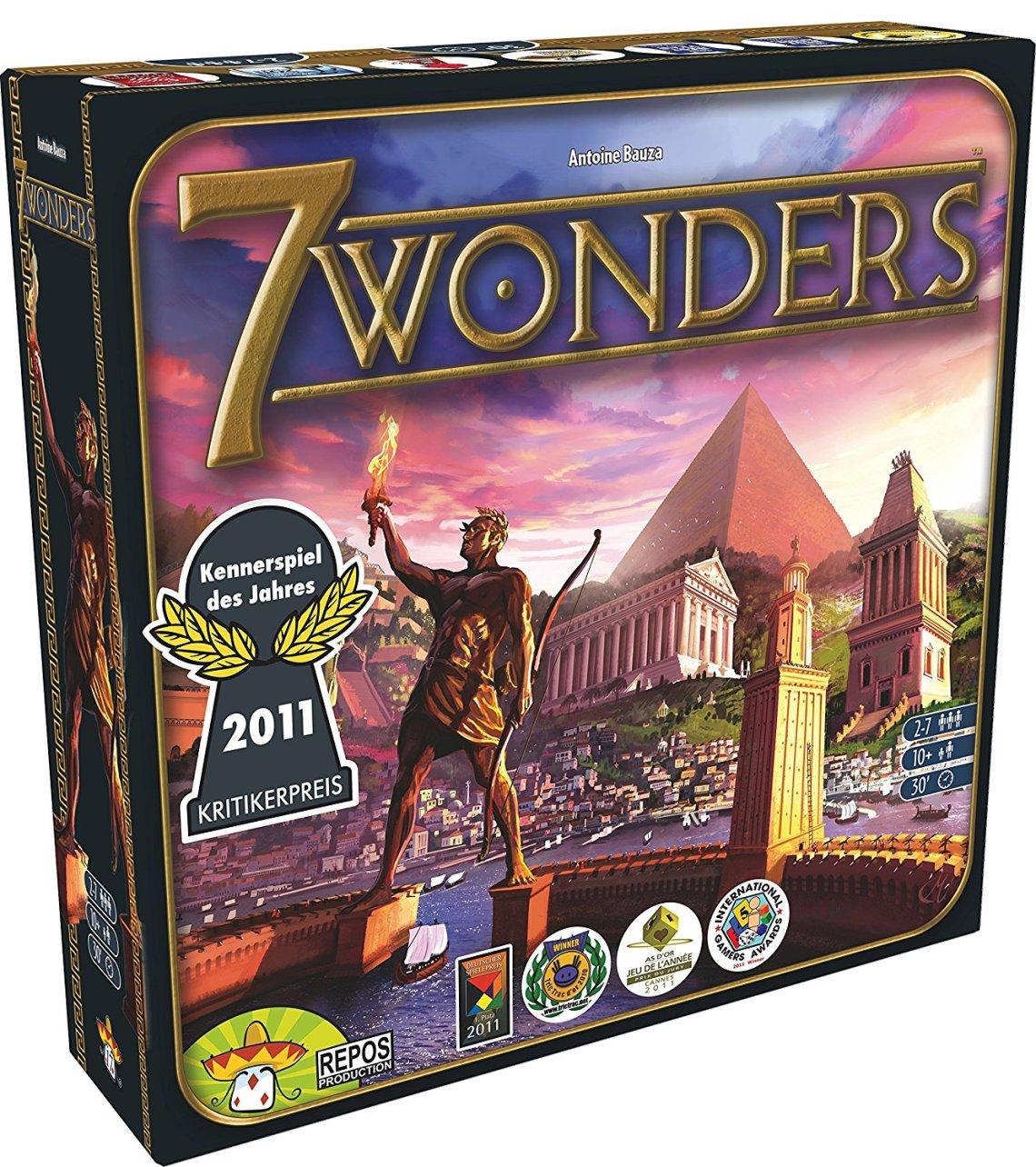 Games, Toys & more Familienspiele Linz 7 Wonders