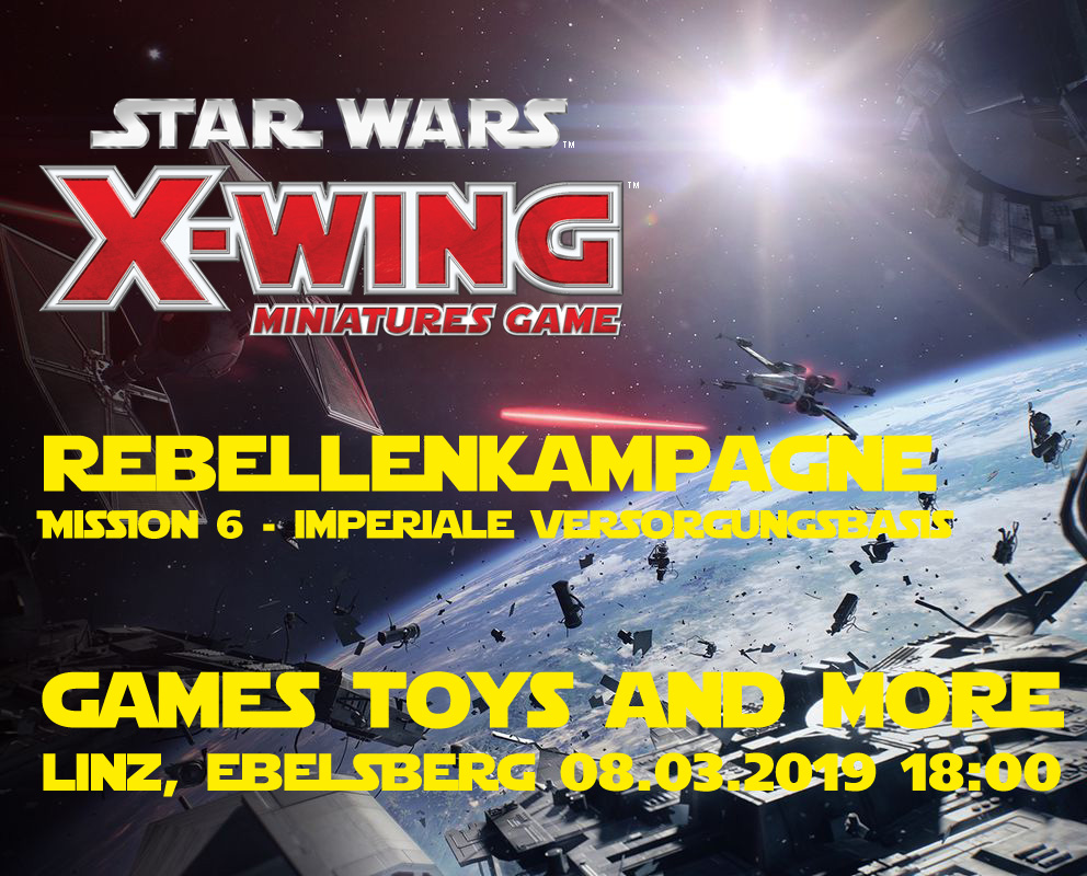 Games, Toys & more Star Wars X-Wing Tabletop Linz