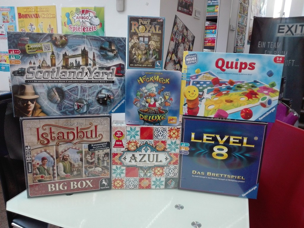 Games, Toys & more Level 8 Familienspiel Linz