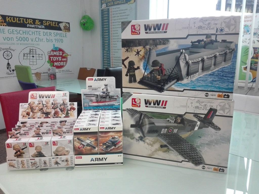 Games, Toys & more Sluban Klemmbausteine Linz