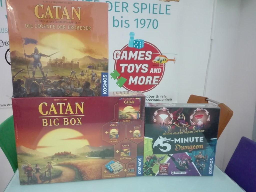 Games, Toys & more Catan Legende der Eroberer Brettspiel Linz