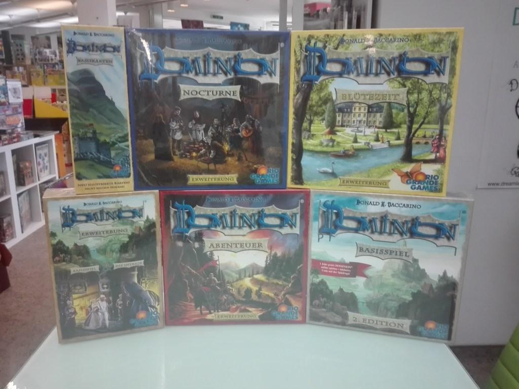 Games, Toys & more Dominion Deckbuilding Spiel Linz