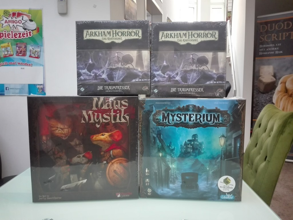 Games, Toys & more Arkham Horror LCG Traumfresser Linz