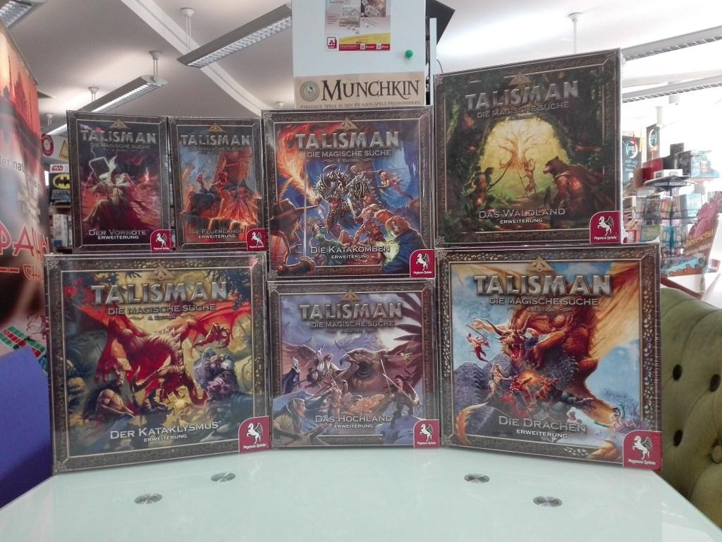 Games, Toys & more Talisman Neuauflage Pegasus Spiele Linz