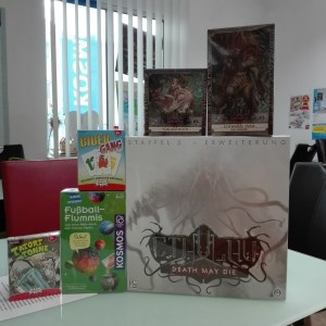 Games, Toys & more Cthulhu Death May Die Staffel 2 H.P. Lovecraft Linz