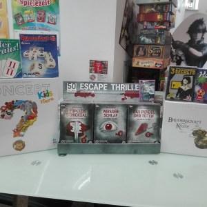 Games, Toys & more Escape Thriller Rätselpiele Linz