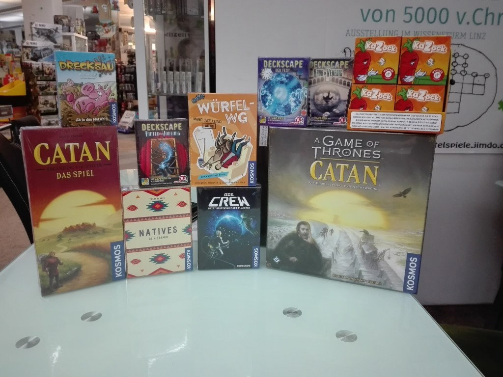 Games, Toys & more Catan Game of Thrones Brettspiele Linz