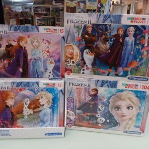 Games, Toys & more Frozen II Puzzles Clementoni Linz