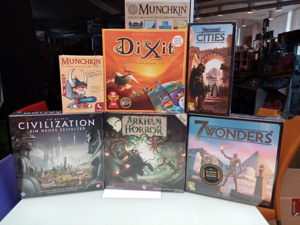 Games, Toys & more 7 Wonders neues Design Repos Spiele Linz