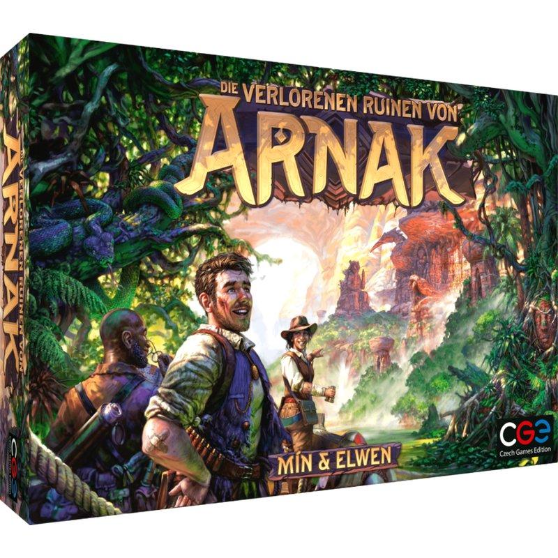 Games, Toys & more Die verlorenen Ruinen von Arnak dt CGE Czech Games Edition Linz