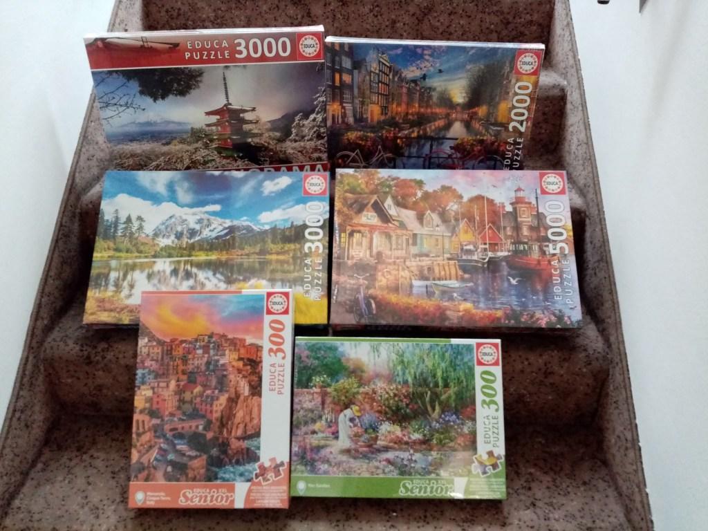 Games, Toys & more 2000 Teile und mehr Educa Puzzles Linz