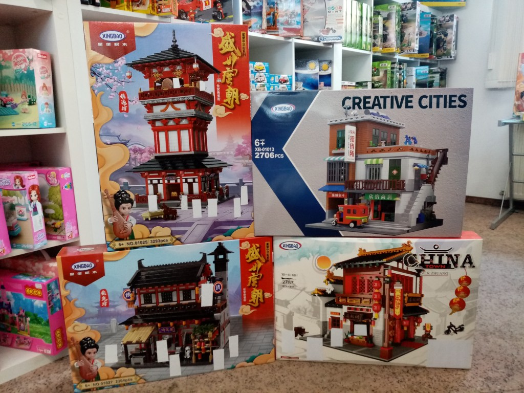Games, Toys & more Xingbao Klemmbausteine Linz