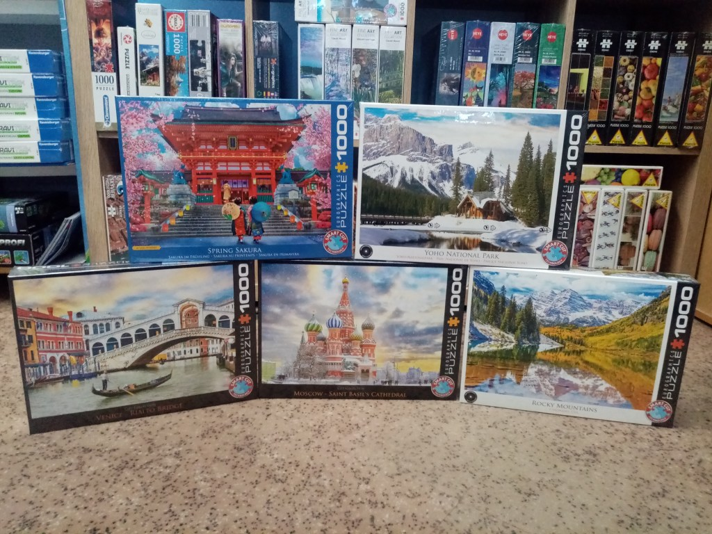 Games, Toys & more Venedig 1000 Teile Eurographics Puzzle Linz