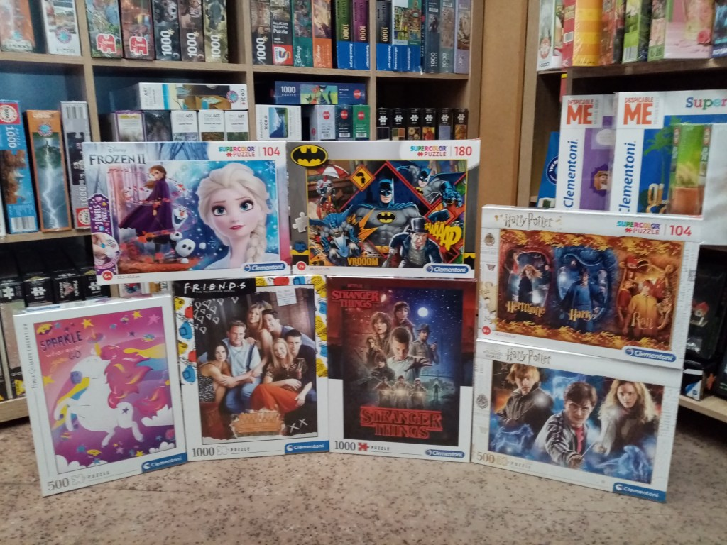 Games, Toys & more Stranger Things Clementoni Puzzles Linz