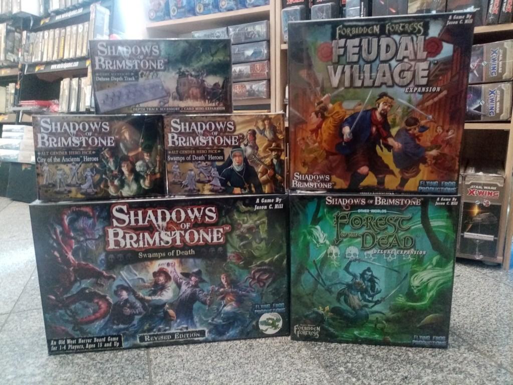Games, Toys & more Shadows of Brimstone Forest oft he Dead Miniaturenspiel Linz