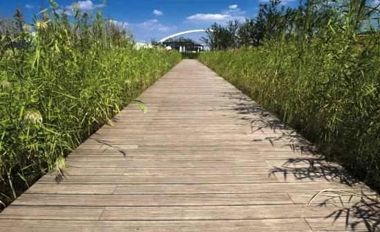 Bamboe buitenvloer
