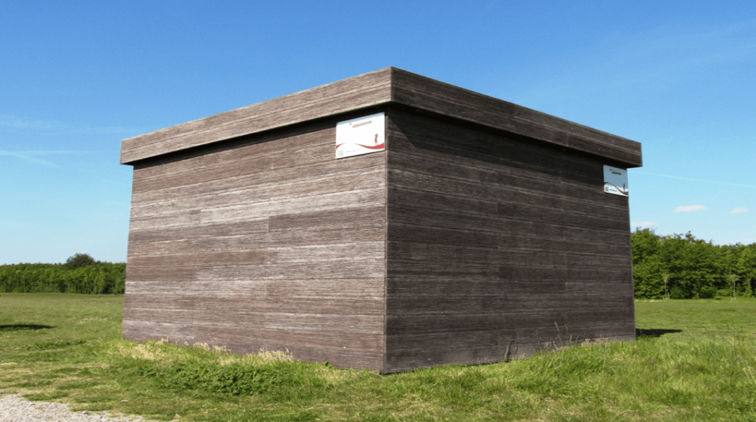 Thermisch bamboe hout gevelbekleding