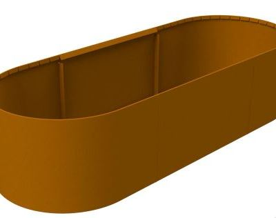 Straightcurve Box - Bakken met vaste hoogte