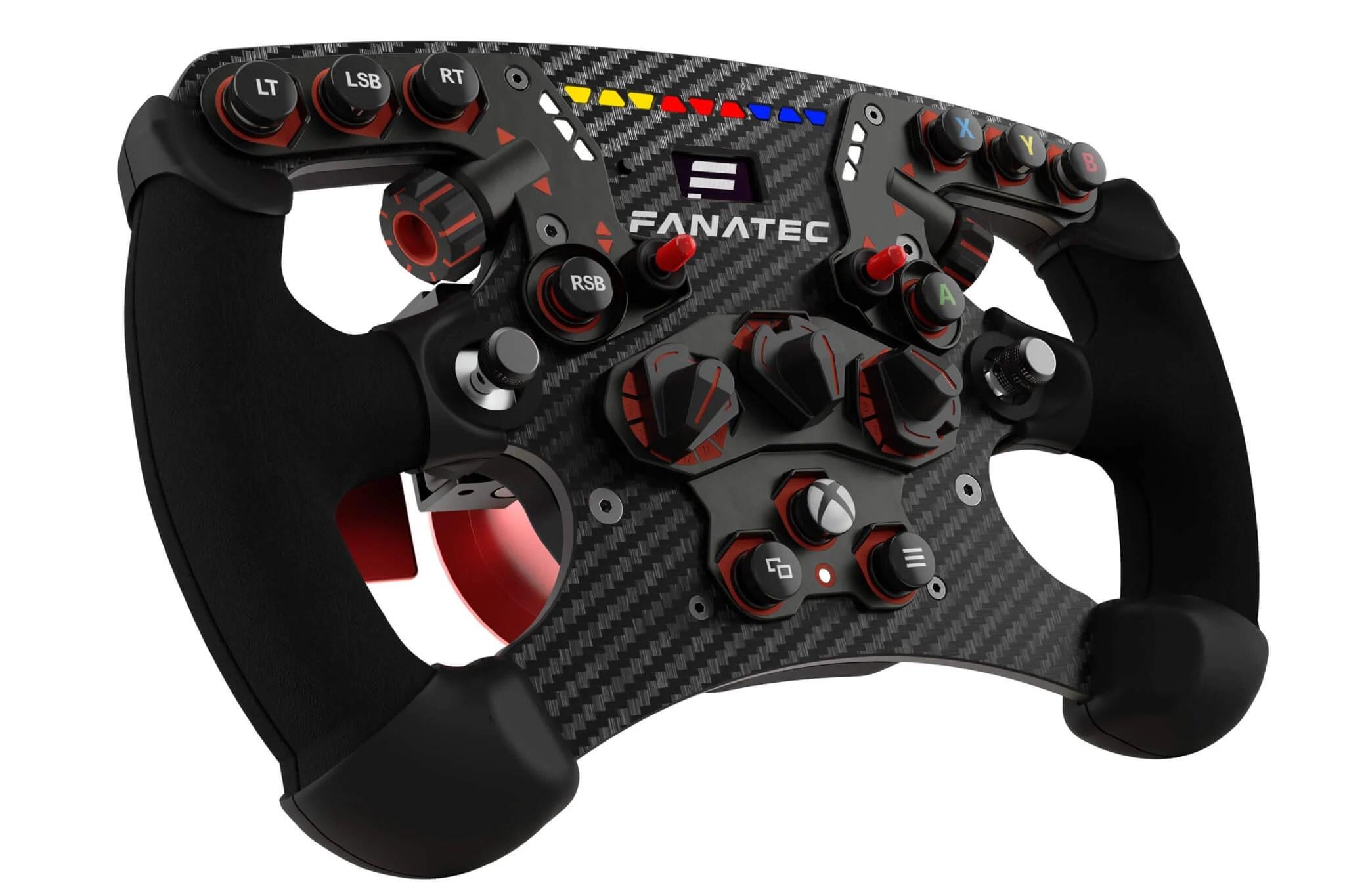 Fanatec Reveals New ClubSport Steering Wheel Formula V2