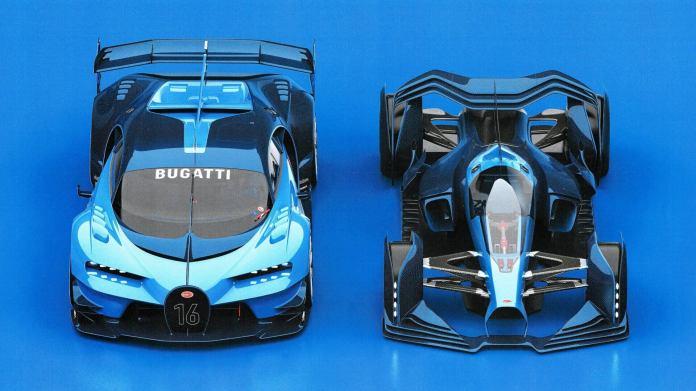 Bugatti Designer Reveals A Shelved Second Vision Gt Concept