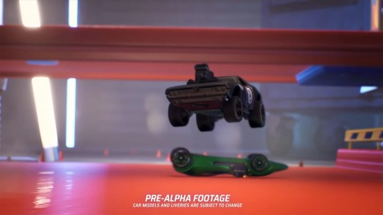 Hot Wheels released: first video about the game