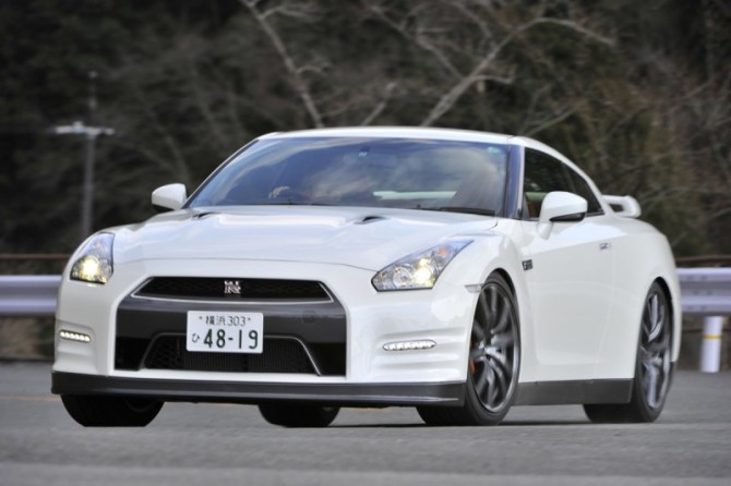 GT-R in Kyoto