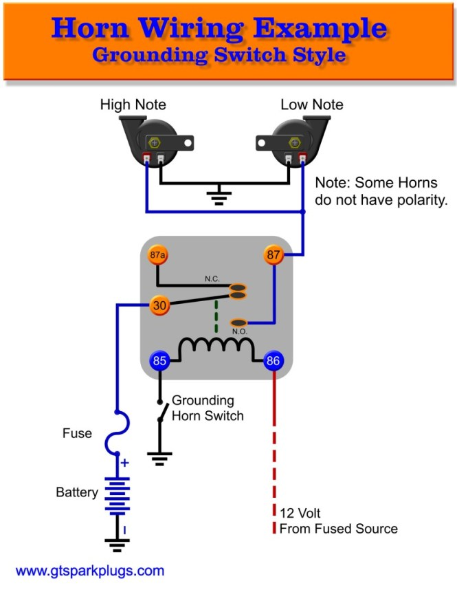 5 pin relay wiring diagram horn wiring diagram 5 pin relay wiring diagram driving lights annavernon