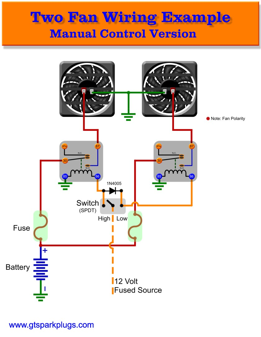 relay wiring diagrams how to relay wiring diagram how image wiringelectric fan wiring diagram relay wiring diagram spal cooling fan wiring diagram schematics and diagrams