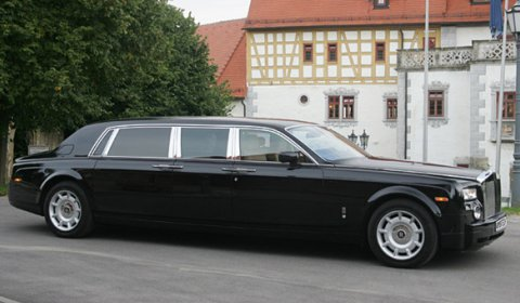 For Sale Limited Series Armored Stretched Rolls-Royce Phantom EWB