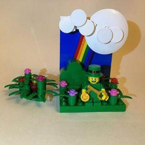 Leprechaun and a Pot o' Gold