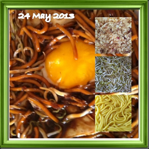What I cooked today (家常便饭系列)- 24-5-2013