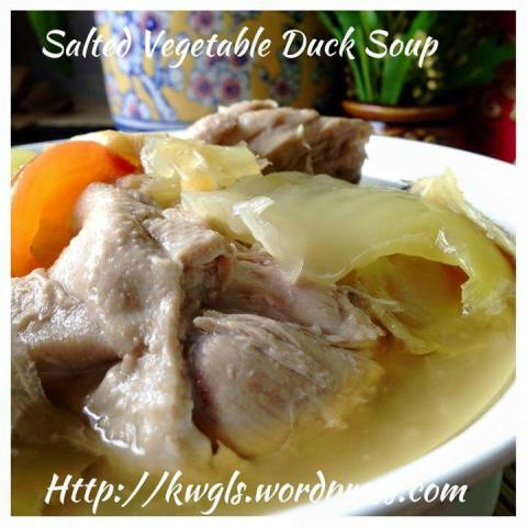 Salted Vegetable Duck Soup (咸菜鸭)– A Quick and Easy Way to Prepare This Traditional Soup Dish