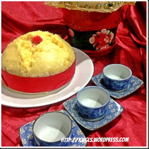 My Steamed Sponge Cake (Kuey Neng Ko) Is Full Of Gas。。。。 (汽水鸡蛋糕)